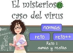 Virus 1 -Sumas y restas-