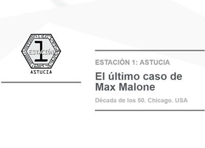 El último caso de Max Malone