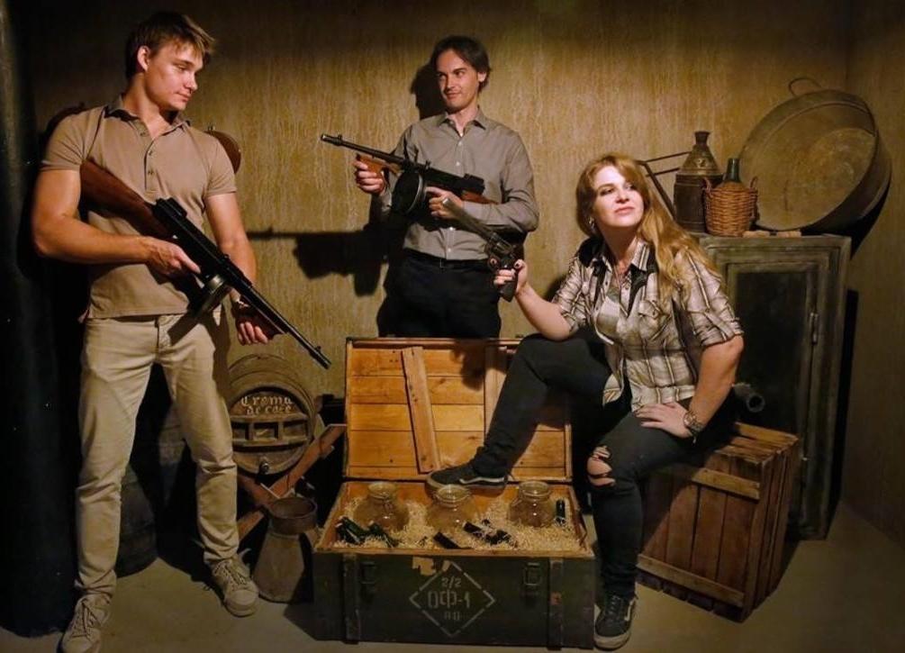 Gangsters: Dinero, armas y alcohol