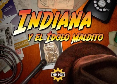Indiana y el Ídolo maldito [Hall Escape]