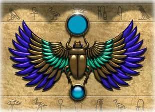 Escarabajo de Horus