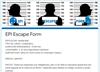 EPI Escape Form