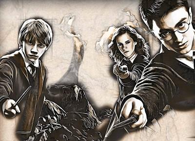 Harry Potter El Bosque encantado