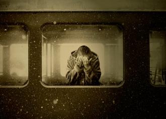 La Huida : El tren