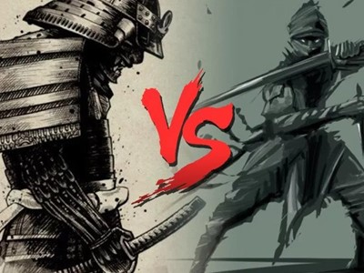 El Poder del Dragón: Samurai vs Ninja