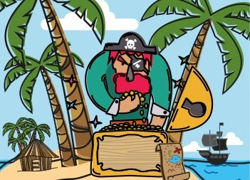 El Tesoro de Jolly Roger [Infantil]