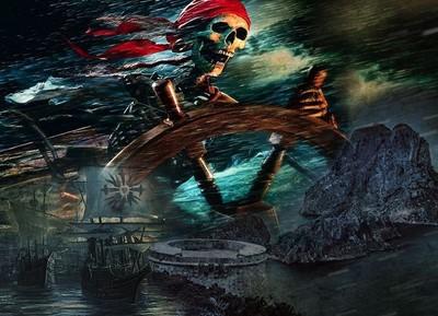 Es secreto pirata de la isla