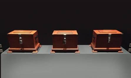 El reto de las tres cajas